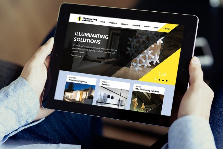 Illuminating Sollutions Website