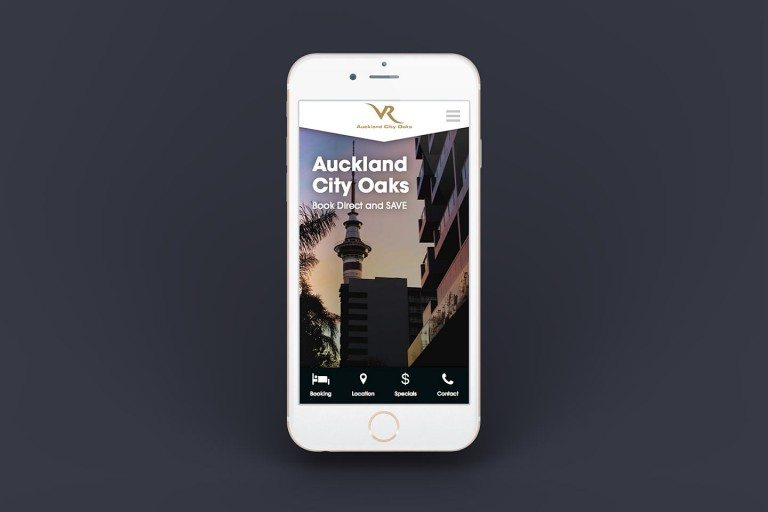 VR Hotels Website