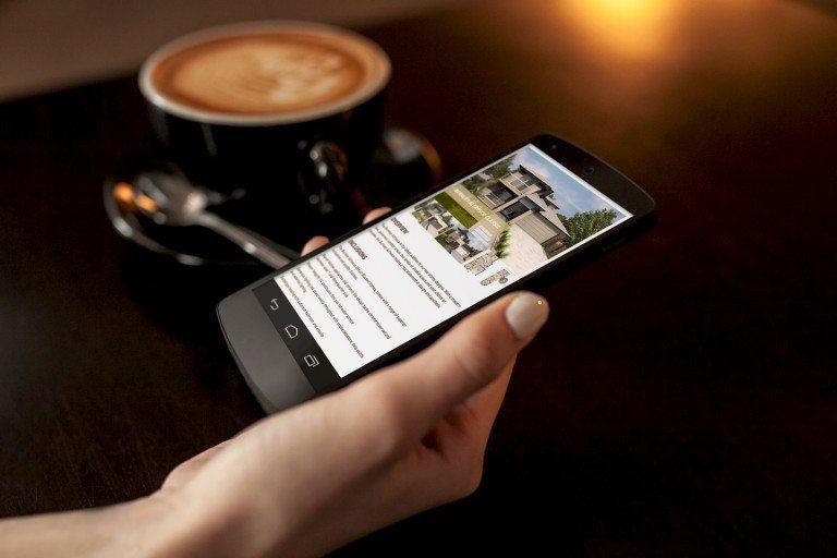 Blackett Homes Website