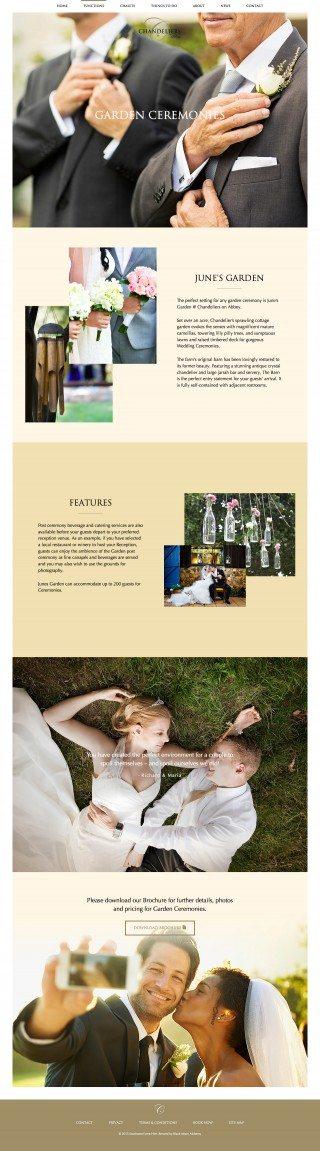 Chandeliers on Abbey Website