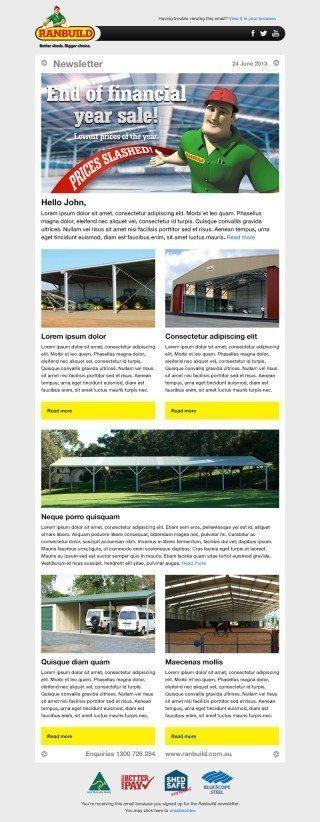 Ranbuild Consumer Newsletter