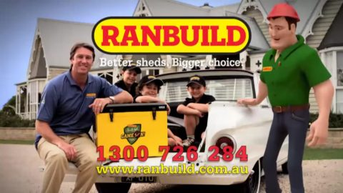 Ranbuild Glenn McGrath Esky promotion