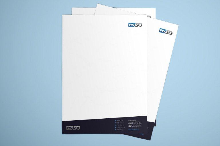 PW3D Letterheads