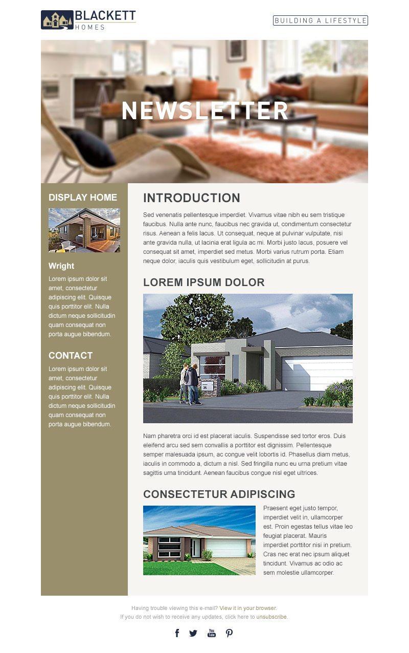 Blackett Home Newsletter