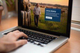 Pioneer Water Tanks Website Desktop