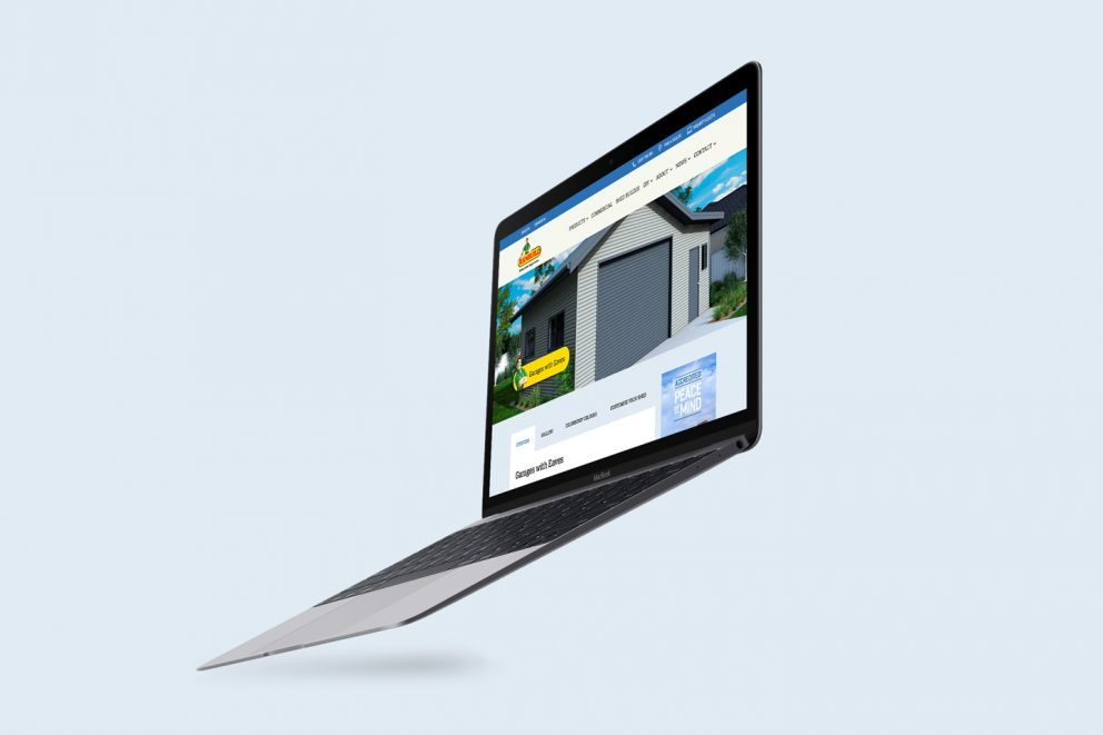 Ranbuild Website Desktop