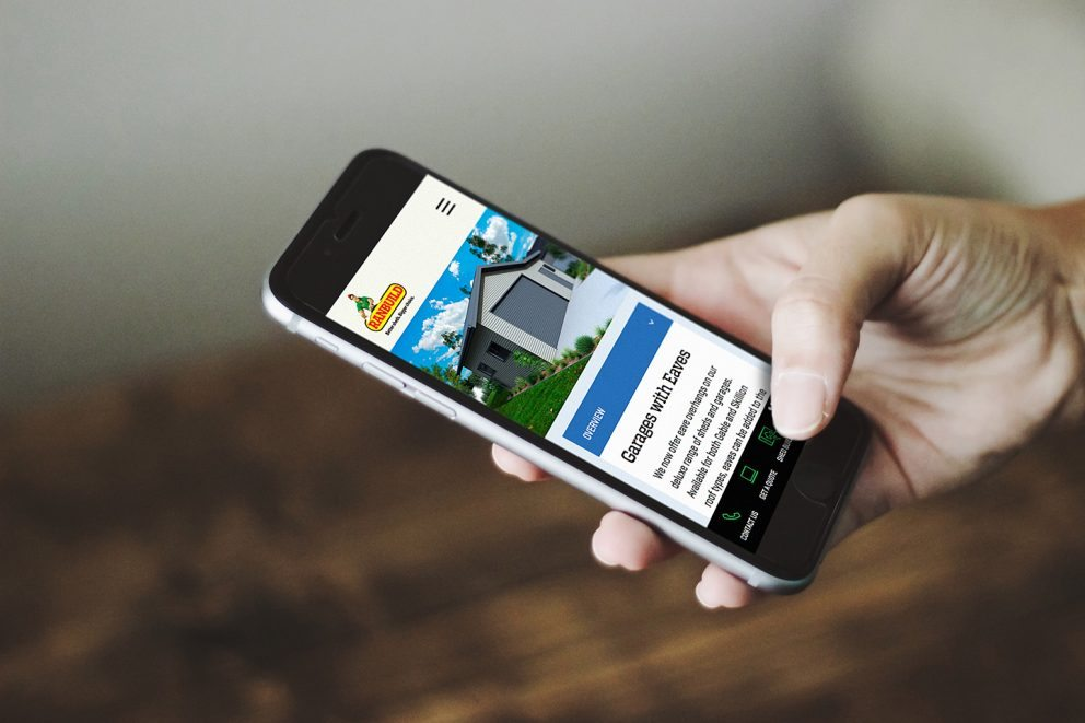 Ranbuild Website Phone