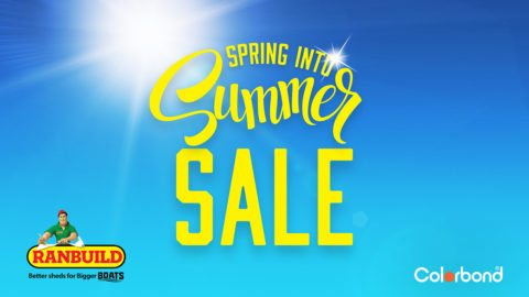 Ranbuild Spring Into Summer Sale