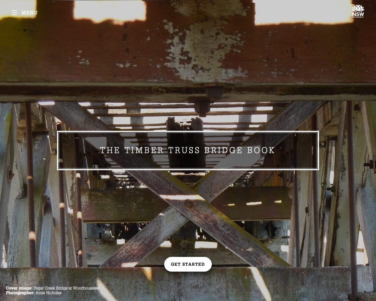 The Truss Book website homepage