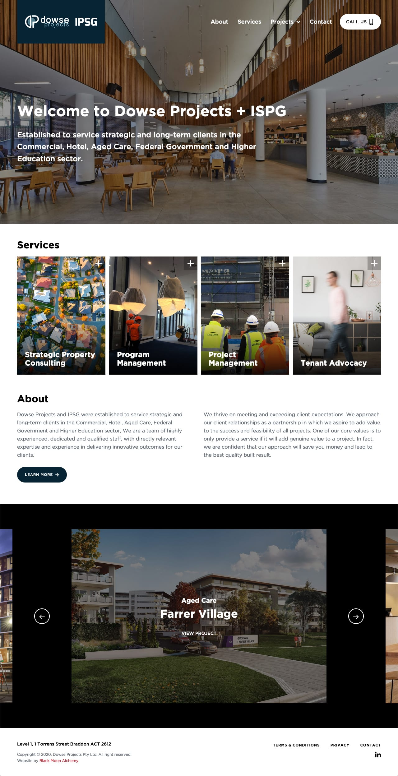Dowse Projects + IPSG website