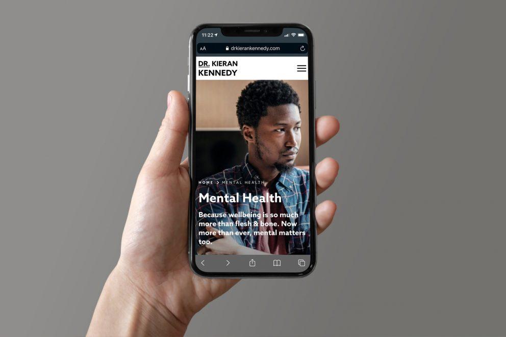 Dr. Kieran Kennedy website phone